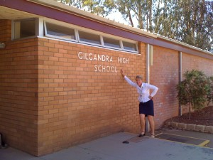 'Gil', Gilgandra Central school, High Academic achievement and Student Well-being.